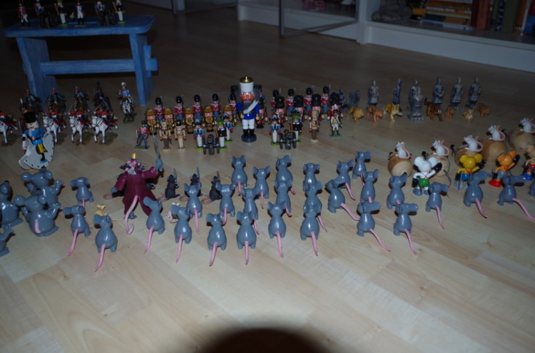 nussknacker und mausekönig Schlacht 1