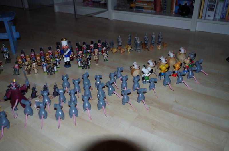 Infanterie und Zierfiguren