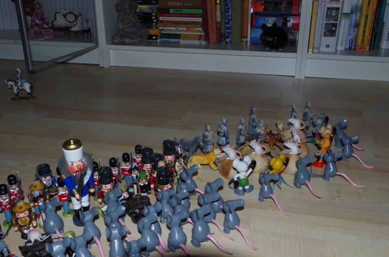 nussknacker und mausekönig - Schlacht