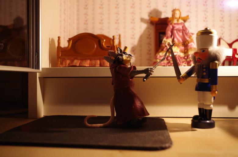 nussknacker und mausekönig - Duell
